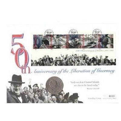 1995 50th Anniversary of the Liberation of Guernsey
